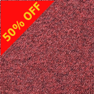 Red General Contract Carpet Tile T32